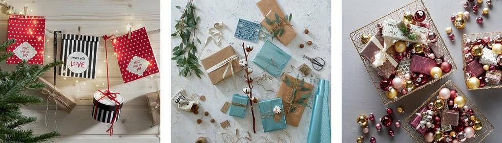 Kreatívne balenie vianočných darčekov