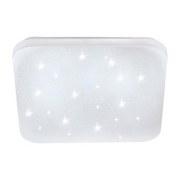 LED-Deckenleuchte Frania-s - Weiß, MODERN, Kunststoff/Metall (33/33/7cm)