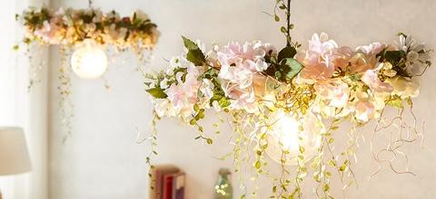 tipytriky_kvetinova lampa diy