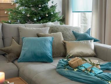 Dekoračné vankúše v štýle Joyful Christmas