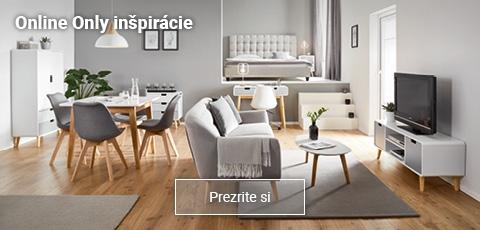 Inšpirácie a moderný nábytok s dodaním zdarma.