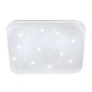 LED-Deckenleuchte Frania-s - Weiß, MODERN, Kunststoff/Metall (43/43/7cm)