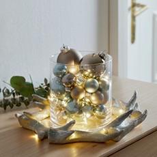 Vianočné ozdoby vo farbách Joyful Christmas