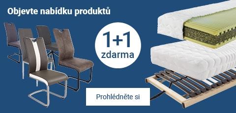 Objevte nabídku produktu 1+1 zdarma