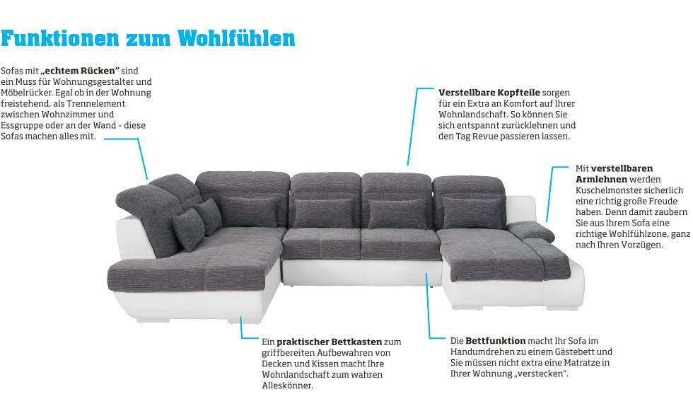 sofas mit funktionen zum wohlfhlen bei mbelix online bestellen mbelix - Eckschlafsofa Die Praktischen Sofa Fur Ihren Komfort