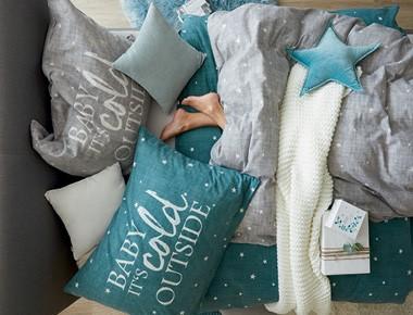 Posteľné obliečky Joyful Christmas