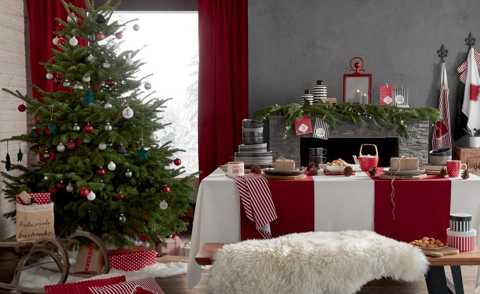 Vánoční stromeček ve stylu Hygge Christmas