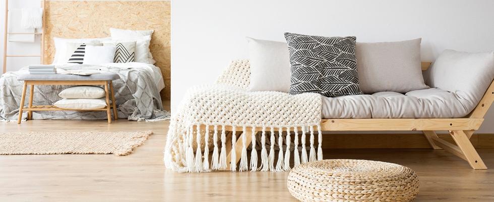 Zmeňte vaše bývanie len vďaka domácim textíliám