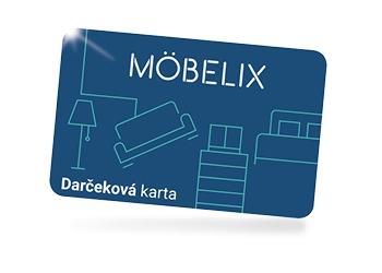 Darčeková karta Möbelix