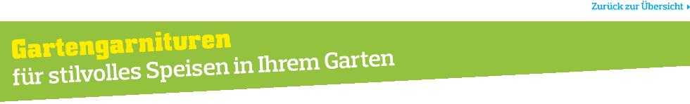Gartenmöbel- Gartengarnituren bei Möbelix