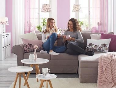 Violet Dreams trend v obývačke - Möbelix