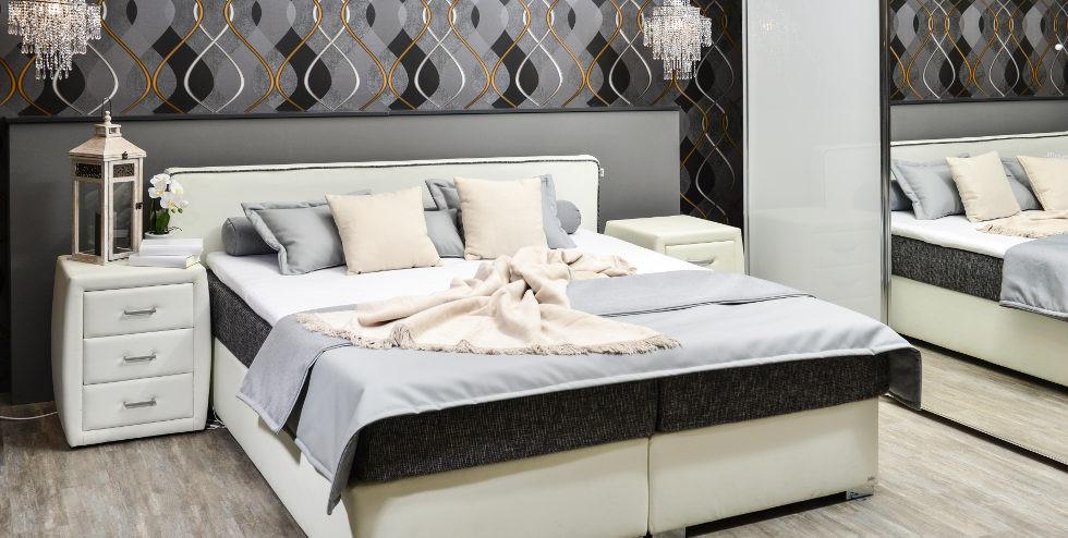 Modernes Schlafzimmer In Sanften Farben