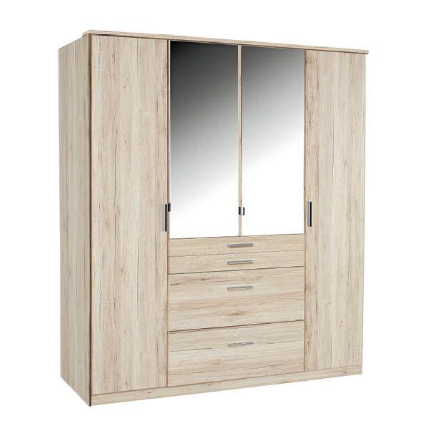 Šatníkové skrine s otočnými dverami