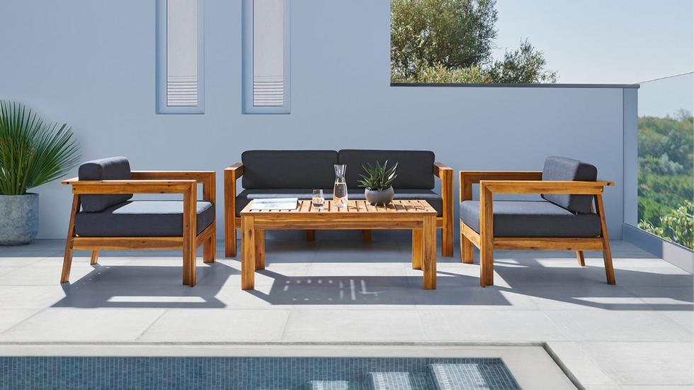 Záhradný nábytok - záhradná súprava Marco