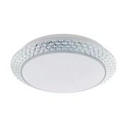 LED-Deckenleuchte Porecta - Klar/Weiß, MODERN, Kunststoff/Metall (41/12cm)