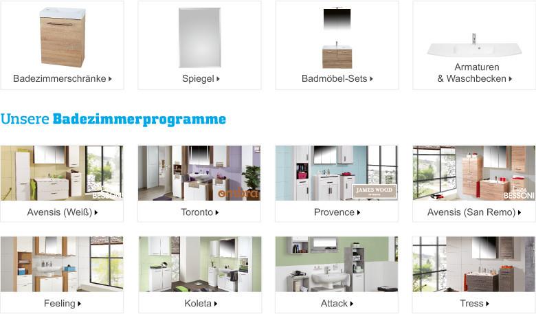 Badezimmermöbel online kaufen | Möbelix