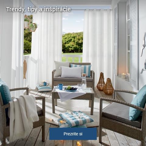 Trendy, tipy a inšpirácie pre Vaše bývanie.