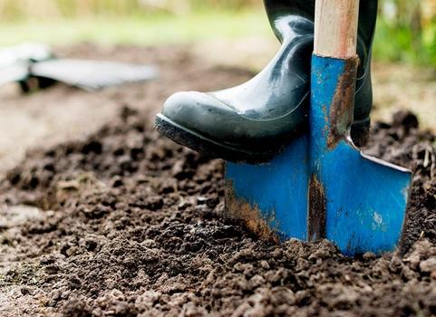 Jarní příprava zahrady