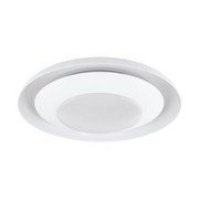 LED-Deckenleuchte Canicosa 1 - Weiß, MODERN, Kunststoff/Metall (49,5/10cm)