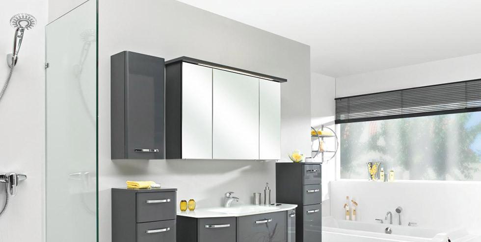 Superior Mobelix Badezimmer #8: Moderne Badezimmereinrichtung In Weiu0026szlig ...