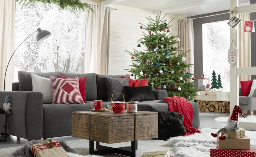 Vianočná výzdoba v štýle Hygge Christmas