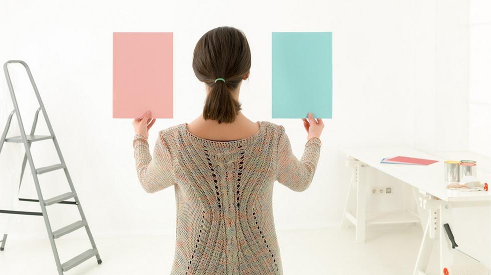 Výběr pastelových barev