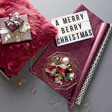 Balenie vianočných darčekov