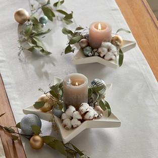 Vianočná dekorácia na stôl Joyful Christmas