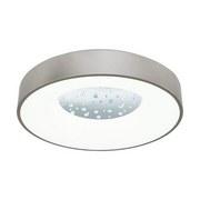 LED-Deckenleuchte Cristelo - Chromfarben/Klar, MODERN, Kunststoff/Metall (50/11cm)