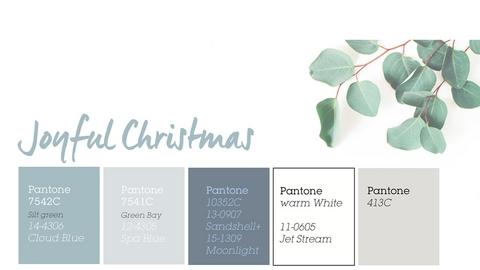 TOP barvy - Joyful Christmas