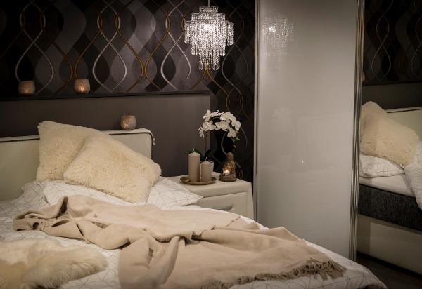 Kuscheliges Schlafzimmer Für Kalte Wintertage