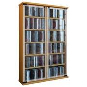 Cd-regal Galerie B: 60 cm - Buchefarben, KONVENTIONELL, Glas/Holzwerkstoff (60/91,5/18cm)