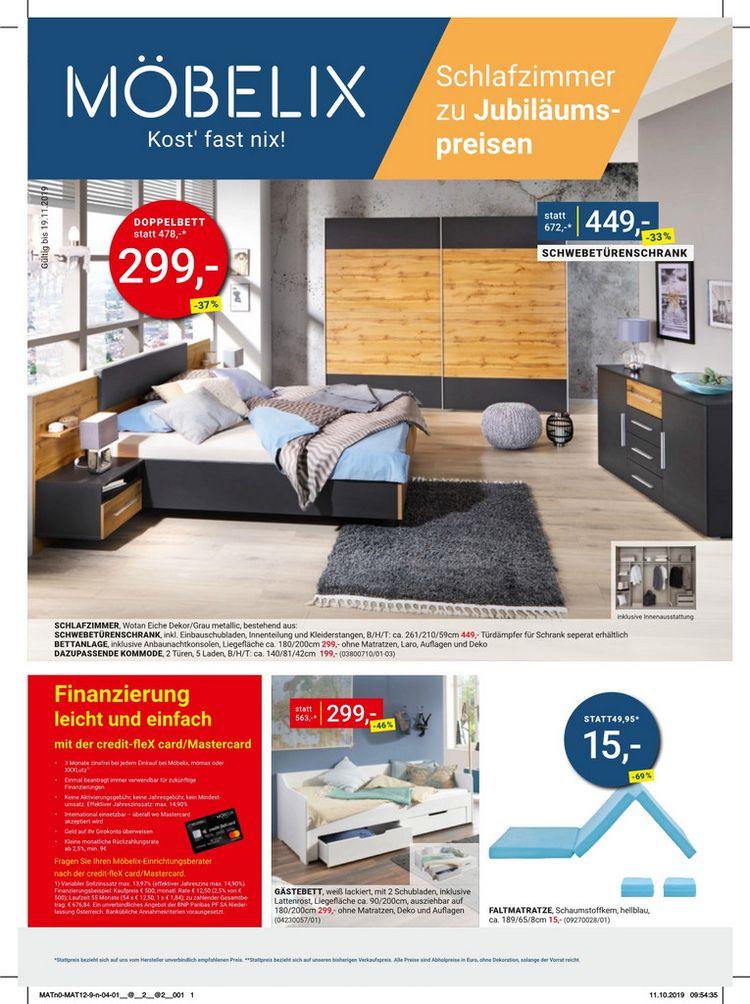 Schlafzimmer zu Jubiläumspreisen