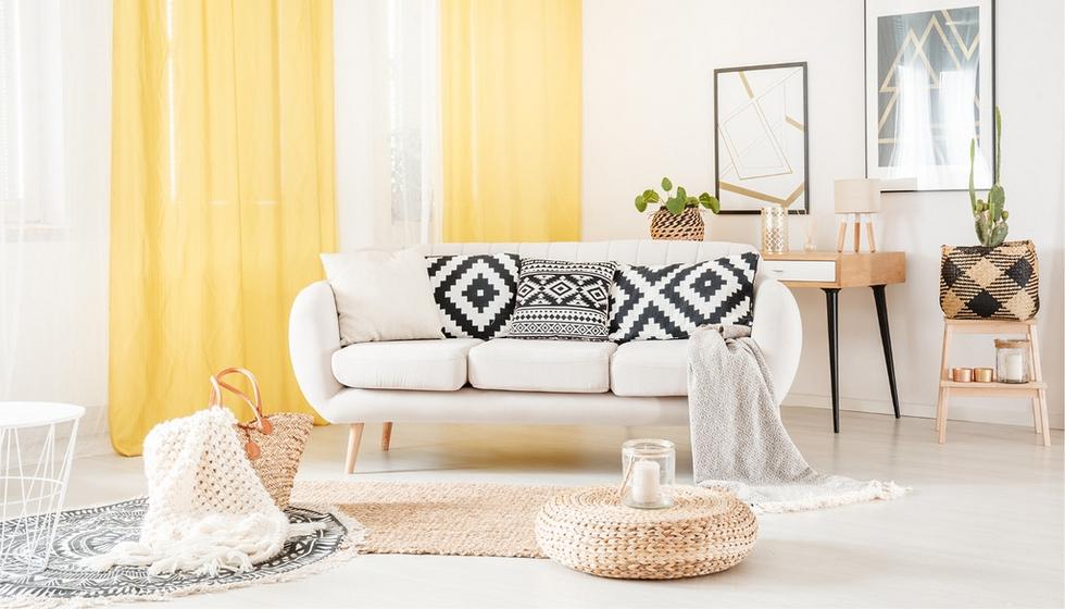 Nebojte sa kombinácie vzorov na domácich textíliách