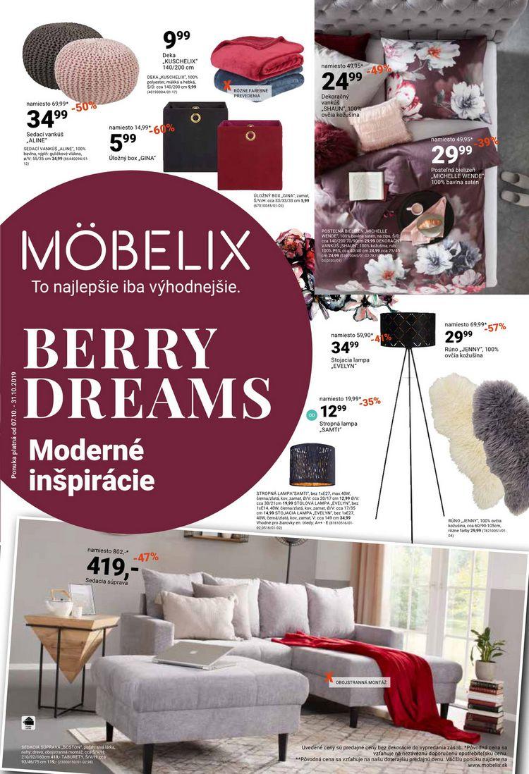 BERRY DREAMS</br>Moderné inšpirácie