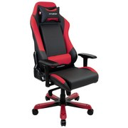 Gamingstuhl DX Racer Iron 11 Schwarz/Rot - Rot/Schwarz, MODERN, Kunststoff/Textil (72/128-135/72cm) - Dxracer
