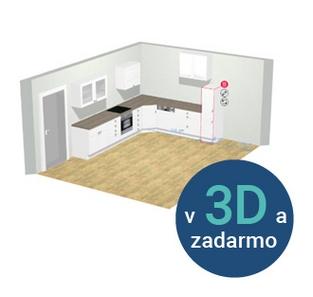 3D plánovač kuchyní Möbelix