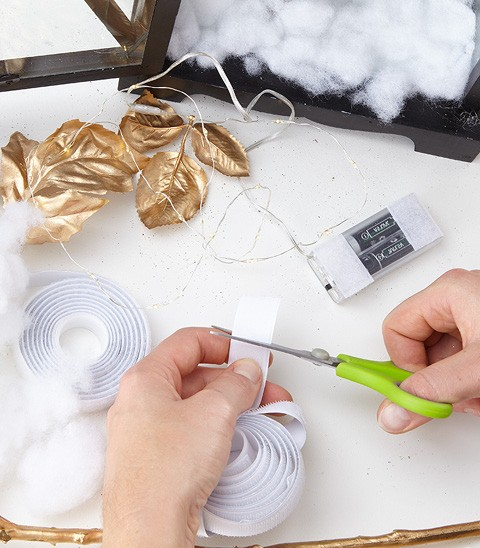 Vianočný lampáš DIY