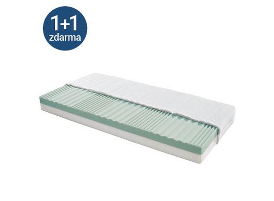 Matrace Ze Studené Pěny Arian 80 - bílá, textilie (80/200cm)