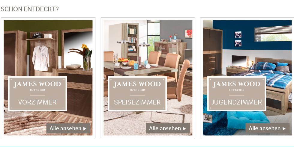exklusivmarke james wood kashmir bei m belix online. Black Bedroom Furniture Sets. Home Design Ideas