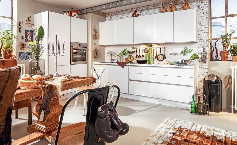 Biela kuchyňa - Möbelix