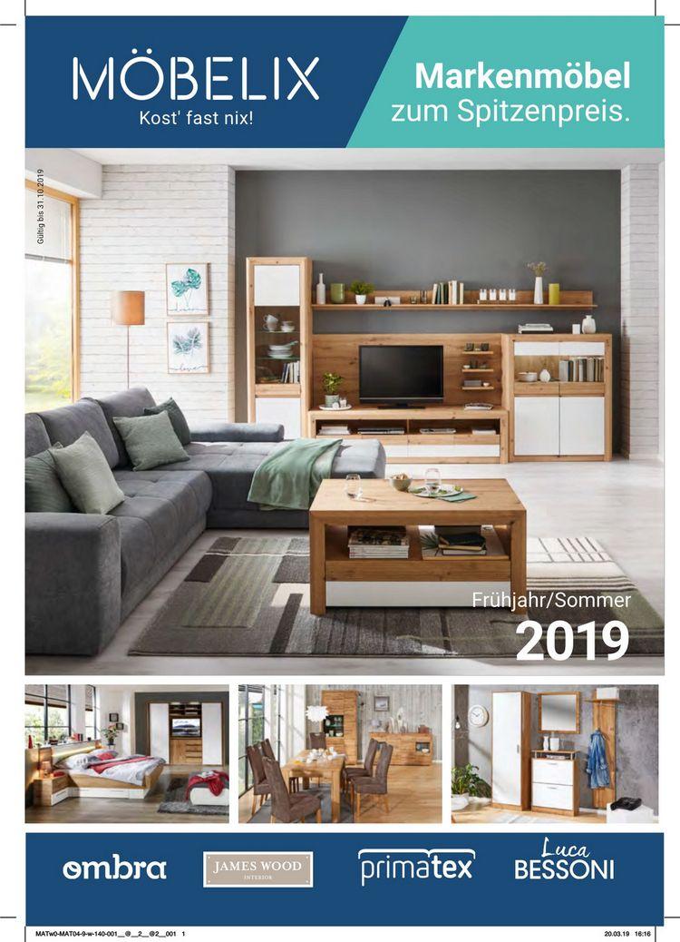Markenmöbel Frühjahr/Sommer 2019
