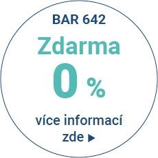 BAR 642 0% - Produkt s úrokovou sazbou 0% p.a. - varianty splácení 10 měsíců