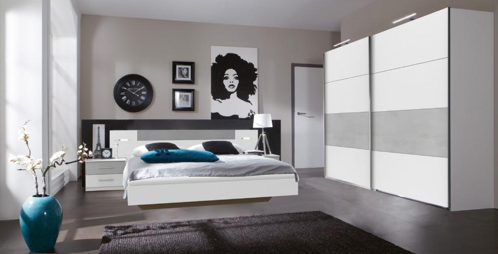 komplette schlafzimmer g nstig online finden. Black Bedroom Furniture Sets. Home Design Ideas