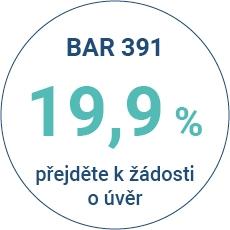 Produkt s úrokovou sazbou 19,9% p.a. - varianty splácení 10,15, 20, 25 a 30 měsíců