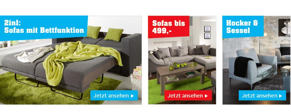 sofas mit funktionen zum wohlf hlen bei m belix online. Black Bedroom Furniture Sets. Home Design Ideas