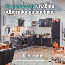 Domluvte si odborné plánování kuchyně v 3D na pobočce s poradenstvím od profesionálů