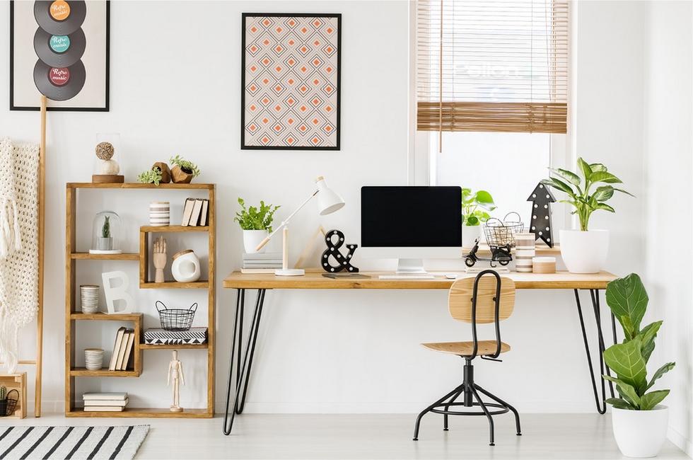 Pracovní koutek pro home office