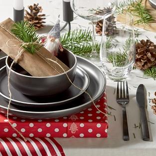 Vianočné prestieranie v hygge štýle