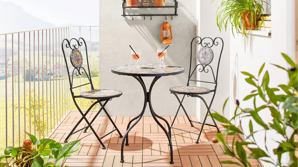 Záhradný nábytok - Balkónová súprava Grace 1